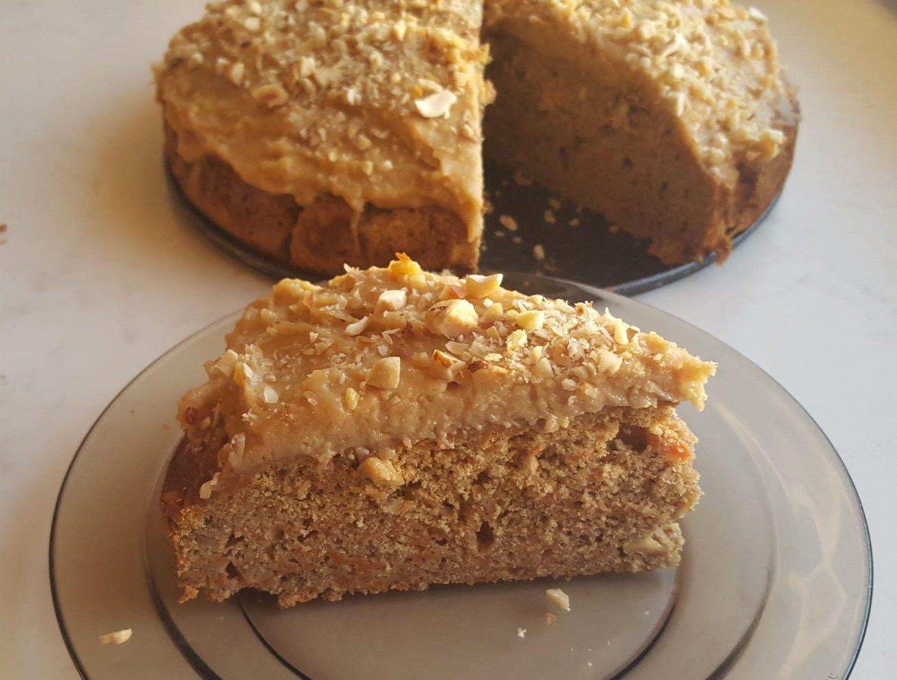 Zdrowe ciasto i krem, który zmienił moje życie. Bez glutenu, cukru, nabiału.