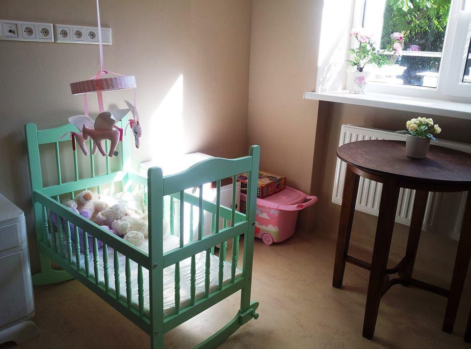 Jeden z pokoików dziecięcych w hospicjum perinatalnym